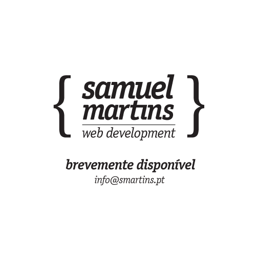 Samuel Martins, Web Developer